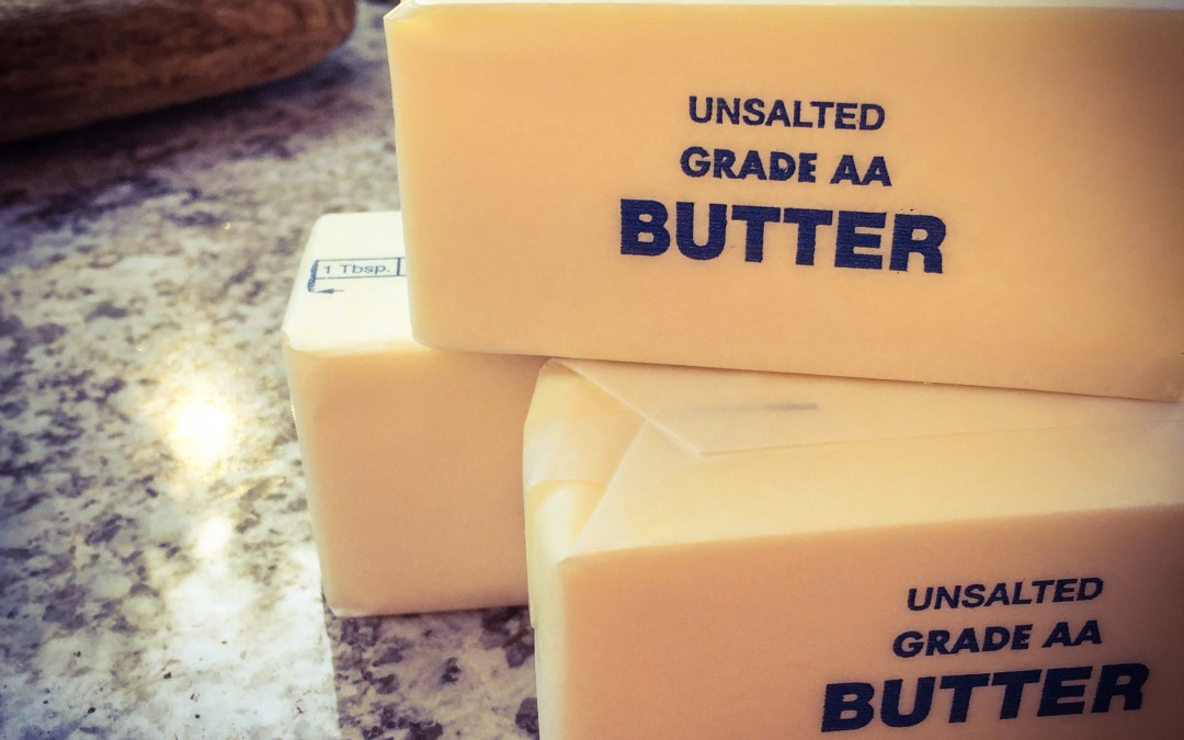 Real butter, the real deal
